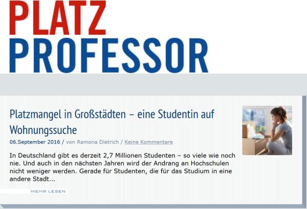 Platzprofessor