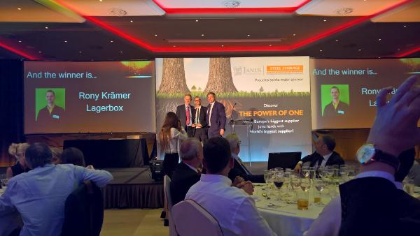 FEDESSA Konferenz Self Storage Award 2016 Rony Krämer