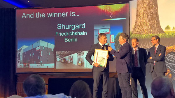 FEDESSA Self Storage Award 2016 Shurgard Berlin Friedrichshain
